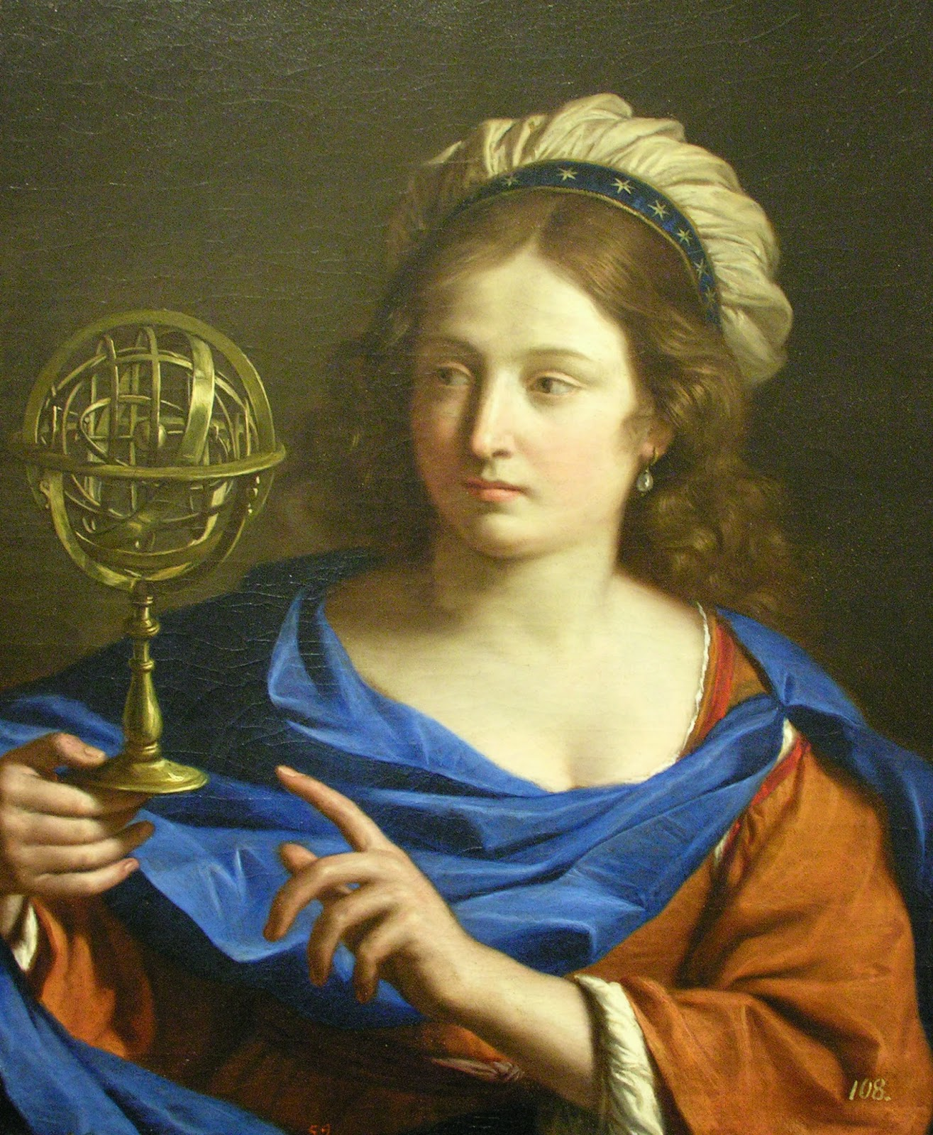 УранияGuercino Personification of Astrology circa 1650 1655